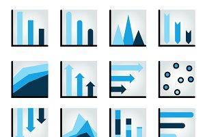 Charts, graph, diagrams