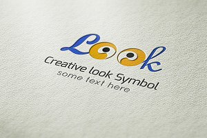 Creative Look Symbol Logo
