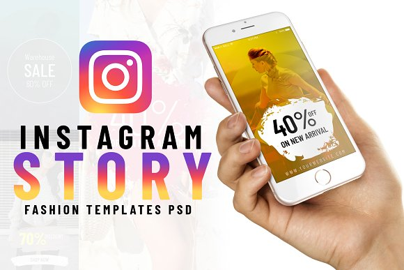 Fashion Instagram Story Templates