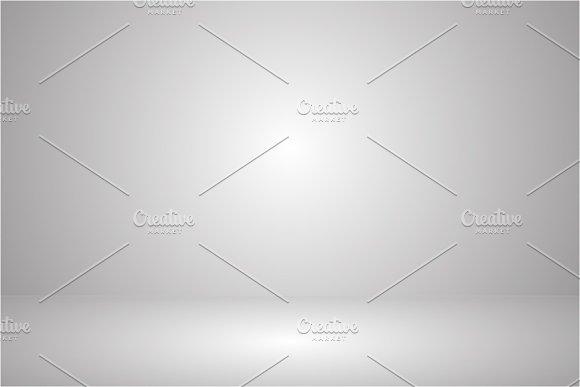 Vector Empty Circular Dark Grey Gradient With Black Solid Vignette Lighting Studio Wall