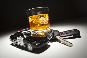 Highway Patrol Police Car by Alcohol