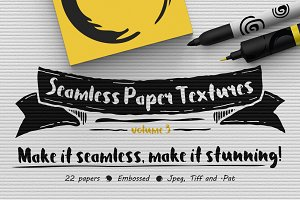 Seamless Paper Textures Vol. 3