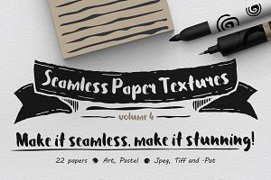 Seamless Paper Textures Vol. 4