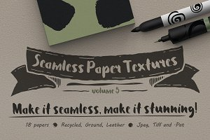Seamless Paper Textures Vol. 5