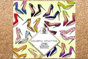 34 Stiletto png clip art