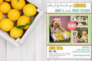Summer Lemonade Mini Session