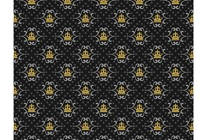 Royal seamless pattern