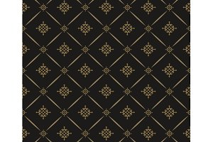 Classic pattern in dark colors