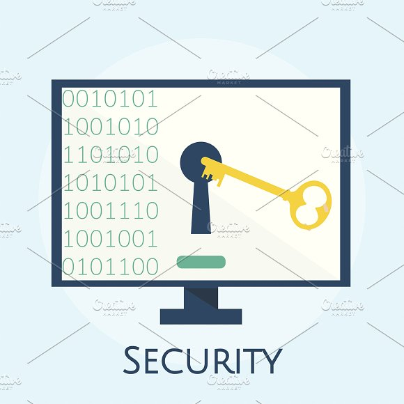 Illustration Of Cyber Security