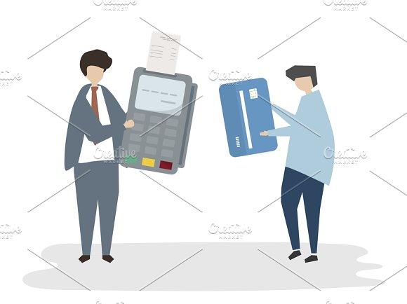 Illustration Of Payment Avatar