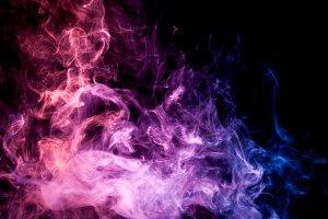 Background of smoke vape