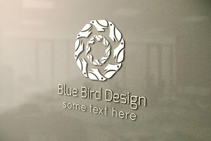 Blue Bird Design Logo