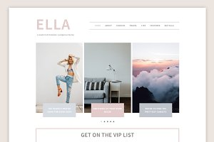Ella Theme • Genesis Framework
