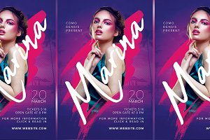 Dj Club Party Flyer Templates v4