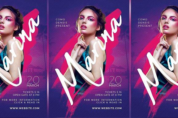 Dj Club Party Flyer Templates V4