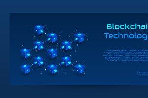 Blockchain isometric concepts