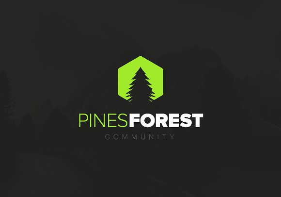 Pines Forest Logo