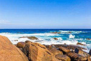 beautiful beach of Sri Lanka