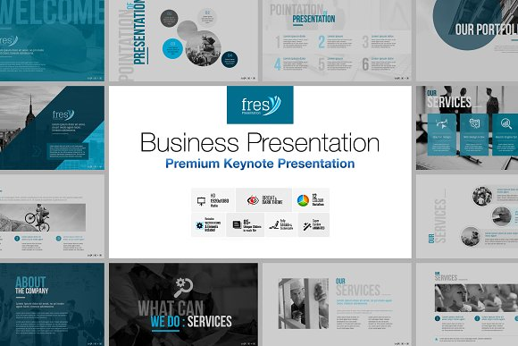 Fresy Business Keynote Template