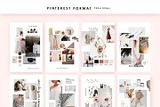 Download Feminine Mood Board Templates Pre Designed Photoshop Graphics Creative Market