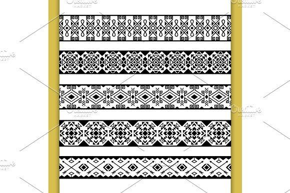Ethnic Lace Patterns