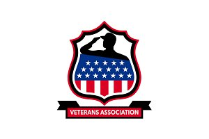 American Veteran Shield Icon