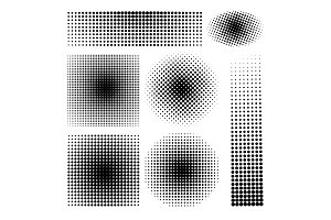 Halftone gradients set