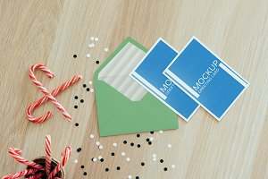 Greeting Cards Mockup