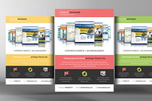 Website Responsive Flyer