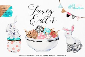 Fancy Easter - Watercolour Set