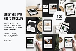 Lifestyle iPad Photos & Mockups