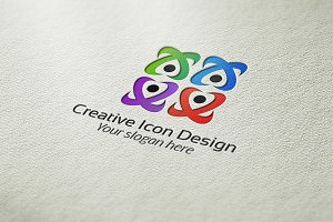 Creative Icon Design Logo