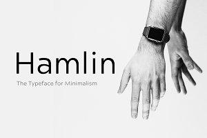 HAMLIN - Minimal Typeface + Web Font
