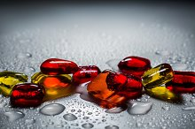 decorative colored glass