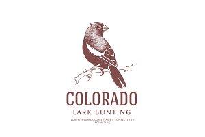 Colorado State Bird Logo