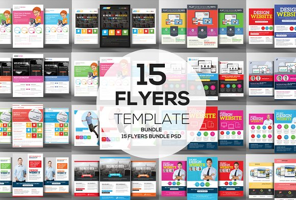 15 Website Design Agency Flyers