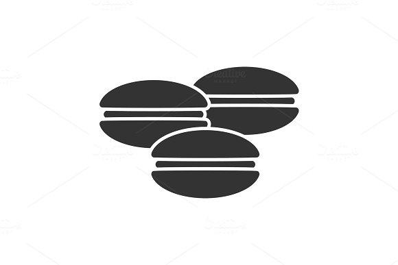 Macarons Glyph Icon