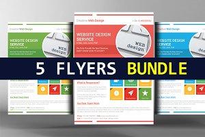 5 Digital Design Services Flyers