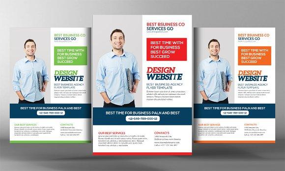5 Digital Design Services Flyers Flyer Templates Creative Market