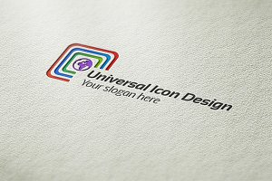 Universal Icon Design Logo