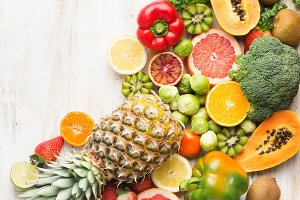 Fruits vegetables rich in vitamin C