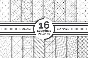 Modern seamless patterns. Big set