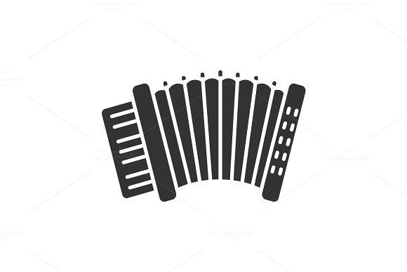 Accordion Glyph Icon
