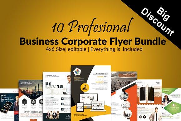 10 Business Flyer Bundle Vol 07