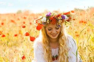 Beautiful blnde natural woman