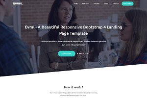 Evral - Marketing Template