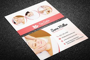 Beauty Salon Spa Business Card 41
