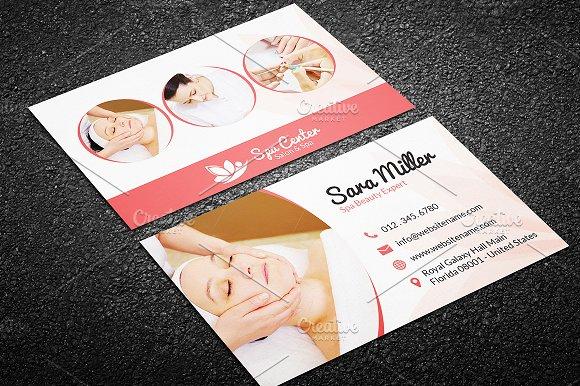 Beauty Salon Spa Business Card 41 Business Card Templates