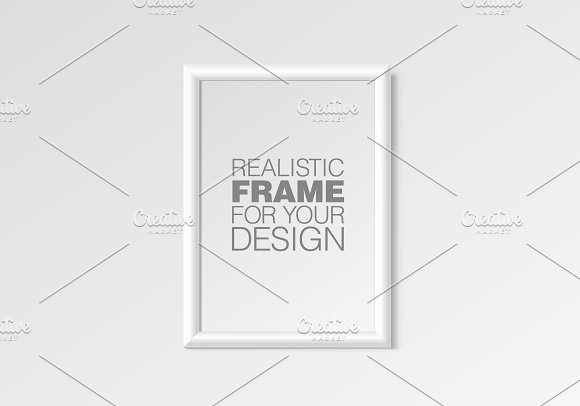 Realistic Vertical Frame