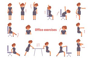 Exercises for the office